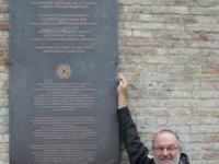 Italien-historisches-zentrum-von-urbino-tafel