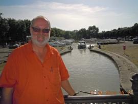 Frankreich-canal-du-midi-in-carcassonne
