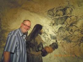 Frankreich-chauvet-höhle