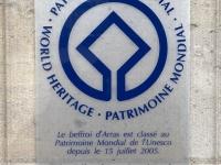 Frankreich Belfriede Arras Tafel 1