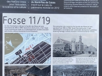 Frankreich Bergbaugebiet Nord Pas Loos en Gohelle Tafel 1