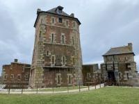 Frankreich Festungsanlagen Vabaun Turm Camaret sur Mer Kopfbild