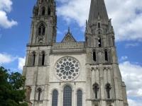 Frankreich Kathedrale Chartres Kopfbild