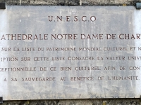 Frankreich Kathedrale Chartres Tafel 1