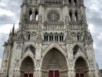 Frankreich Kathedrale von Amiens Kopfbild