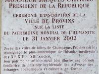 Frankreich Mittelalterliche Handelsstadt Provins Tafel 1