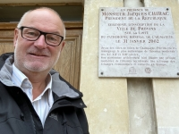 Frankreich Mittelalterliche Handelsstadt Provins Tafel
