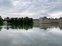 Frankreich Schloss und Park Fontainebleau Kopfbild 1