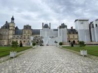 Frankreich Schloss und Park Fontainebleau Kopfbild 2