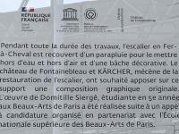 Frankreich Schloss und Park Fontainebleau Tafel 1