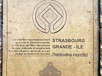Frankreich Strassburg Grand Ile Tafel 1