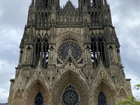 Frankreich Reims Kathedrale Notre Dame Palais du Tau und Kloster Saint Remi Kopfbild 1