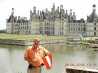 Frankreich Loiretal Schloss Chambord 2006 06 28