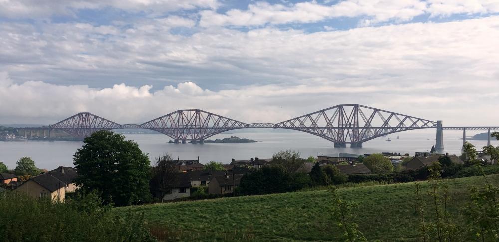 Grossbritanien Forth Bridge Kopfbild