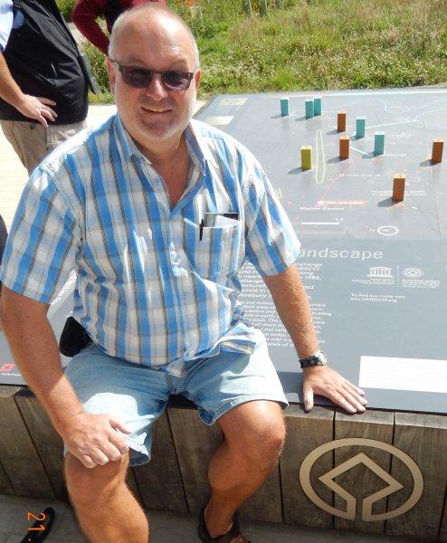 Grossbritannien Stonehenge Tafel