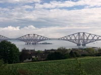 Grossbritanien Forth Bridge Kopfbild