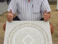 Grossbritannien Kathedrale Canterbury Tafel