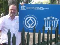 Griechenland-ruinen-von-olympia-tafel