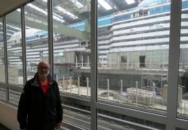 2020 07 05 Grösste Dockhalle der Welt Meyer Werft Papenburg