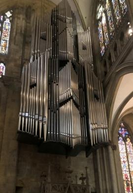 2020 08 27 Regensburg Dom mit der größten freihängenden Orgel der Welt