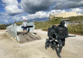 2021 07 07 Sainte Marie du Mont am Utah_Beach Landungsstrand in der Normandie