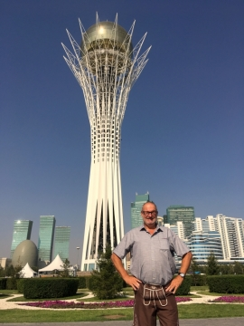 2017 08 26 Kasachstan Astana jüngste Hauptstadt der Welt