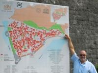 Montenegro Kotor Venezianisches Verteidigungssystem des 15. bis 17. Jahrhunderts Tafel