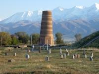 Kirgisistan Routen der Seidenstraße im Tian Shan-Gebirge Kopfbild