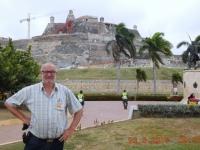 Kolumbien Hafen Befestigungen in Cartagena