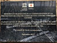 Senegal Insel Goree Sklaveninsel Tafel 1
