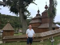 Slowakei Bodruzal Holzkirchen in den Karpaten