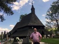 Slowakei Tvrdosin Holzkirchen in den Karpaten