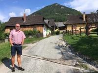 Slowakei Vikolinec Bauerndorf