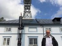 Slowenien Historische Stätten der Quecksilbergewinnung Almaden und Indrija Francisci Schacht