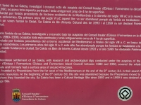 Spanien Ibiza Biologische Vielfalt und Kultur Sa Caleta Tafel 1