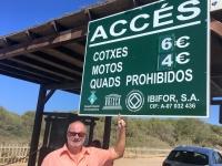 Spanien Ibiza Biologische Vielfalt und Kultur Tafel