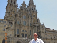 Spanien Altstadt von Santiago de Compostela