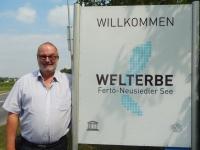 Österreich Kulturlandschaft Neusiedler See Tafel