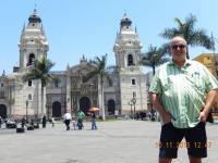 Peru Franziskanerkloster und Altstadt von Lima