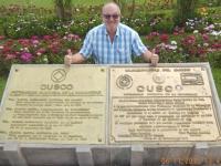 Peru Stadt Cuzco Tafel