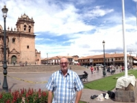 Peru Stadt Cuzco