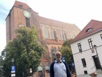 Polen Altstadt von Torun Dom St Johannes