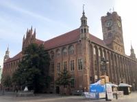 Polen Altstadt von Torun Rathaus Kopfbild
