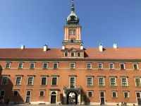 Polen Altstadt von Warschau Königsschloss Kopfbild