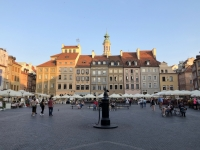 Polen Altstadt von Warschau Kopfbild