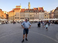 Polen Altstadt von Warschau