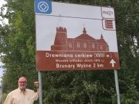 Polen Brunary Holzkirchen in den Nordkapaten Tafel