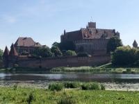 Polen Deutschordensschloss Malbork Marienburg  Kopfbild