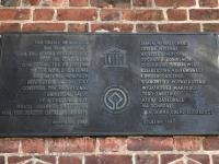 Polen Deutschordensschloss Malbork Marienburg Tafel 1