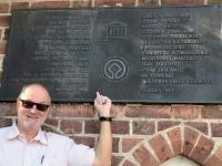 Polen Deutschordensschloss Malbork Marienburg Tafel
